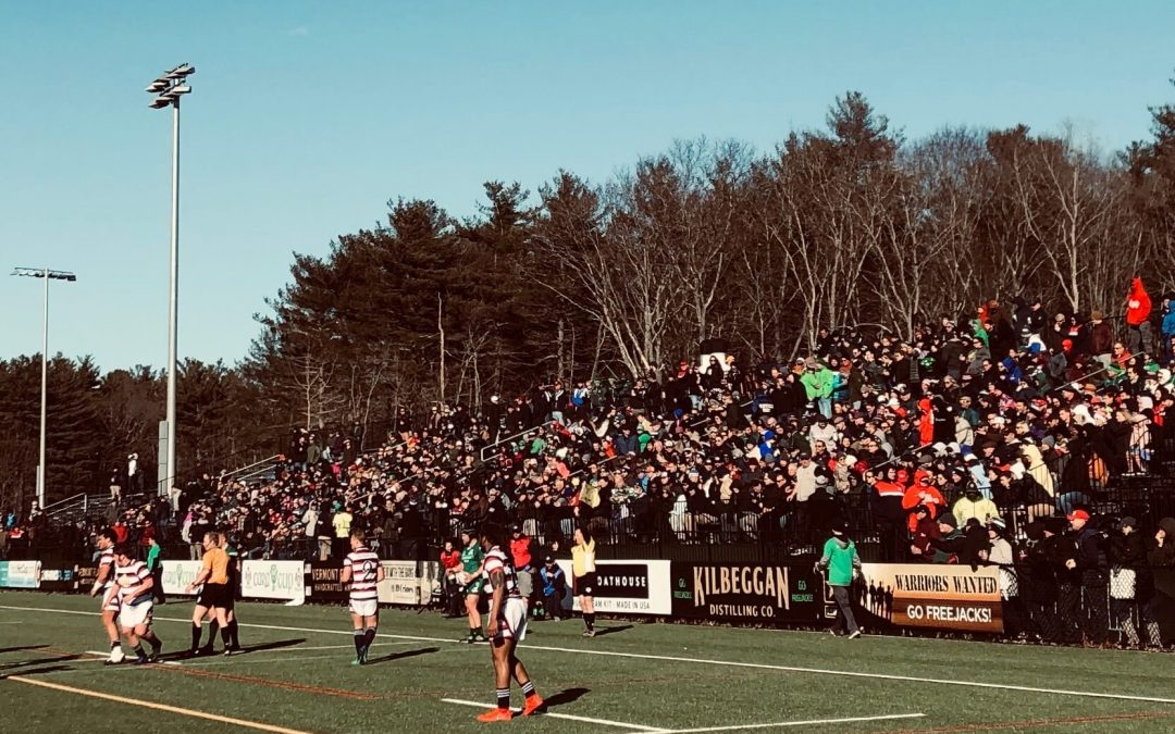 The New England Free Jacks Announce Union Point Stadium as Home Field for Inaugural 2020 Season in Major League Rugby