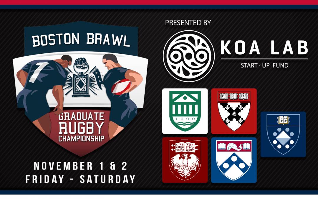 Boston Brawl Graduate Rugby Championship November 1st & 2nd