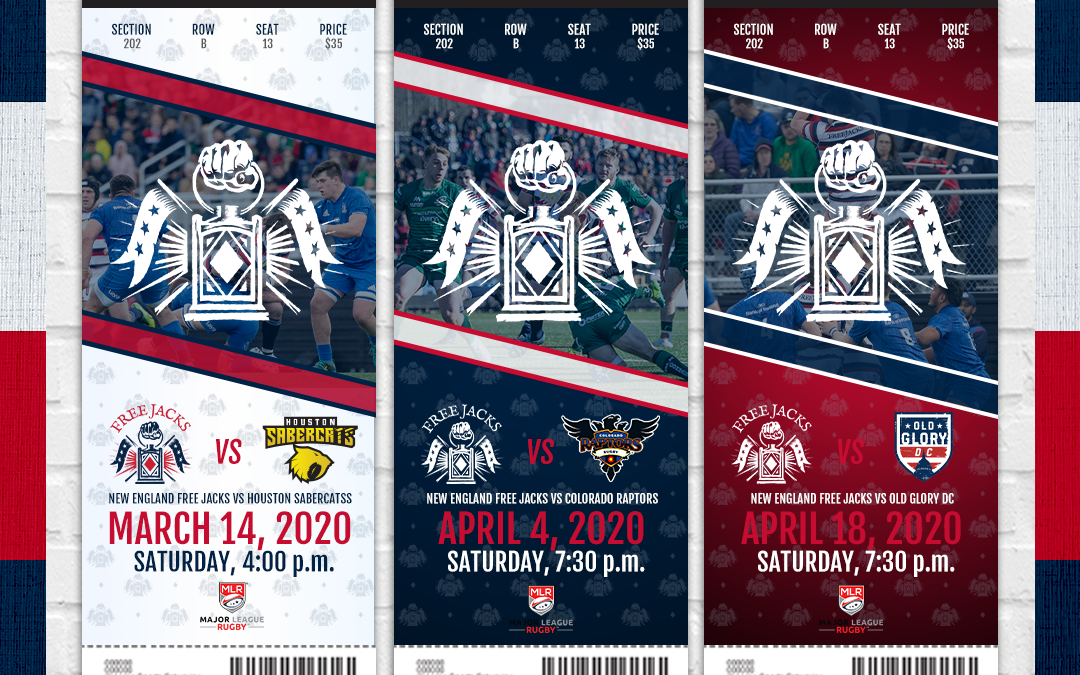 THE NEW ENGLAND FREE JACKS ANNOUNCE TICKET DONATION PROGRAM AIMED AT HELPING DESERVING ORGANIZATIONS  IN NEW ENGLAND EXPERIENCE RUGBY