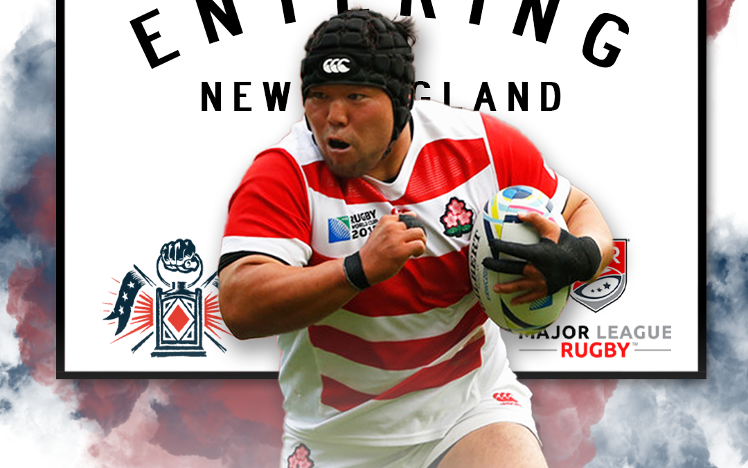 Kensuke Hatakeyama, Japan's Most Capped Front Rower, Joins the Free Jacks for Inaugural 2020 Season in Major League Rugby