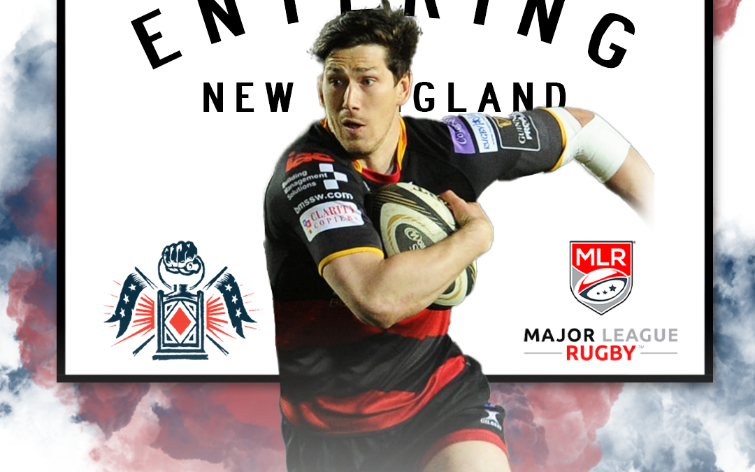 Free Jacks Add Canterbury Center, Sam Beard, for Inaugural 2020 and 2021 Seasons in Major League Rugby