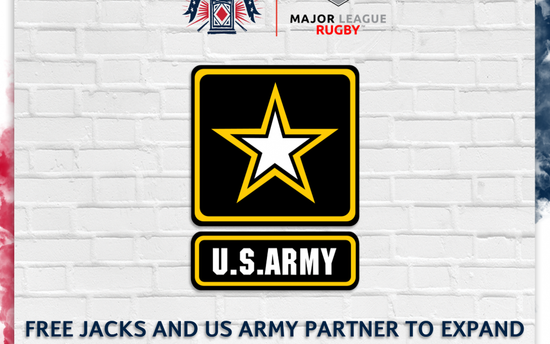 NEW ENGLAND FREE JACKS AND U.S. ARMY PARTNER TO EXPAND ACCESS TO RUGBY AROUND NEW ENGLAND