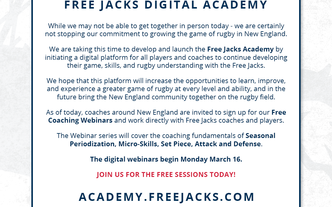 FREE JACKS DIGITAL ACADEMY