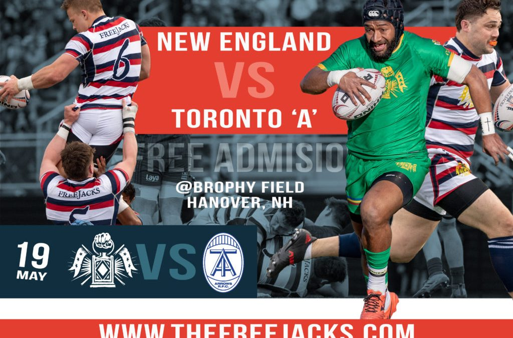 Major League Rugby Coming to the Upper Valley!