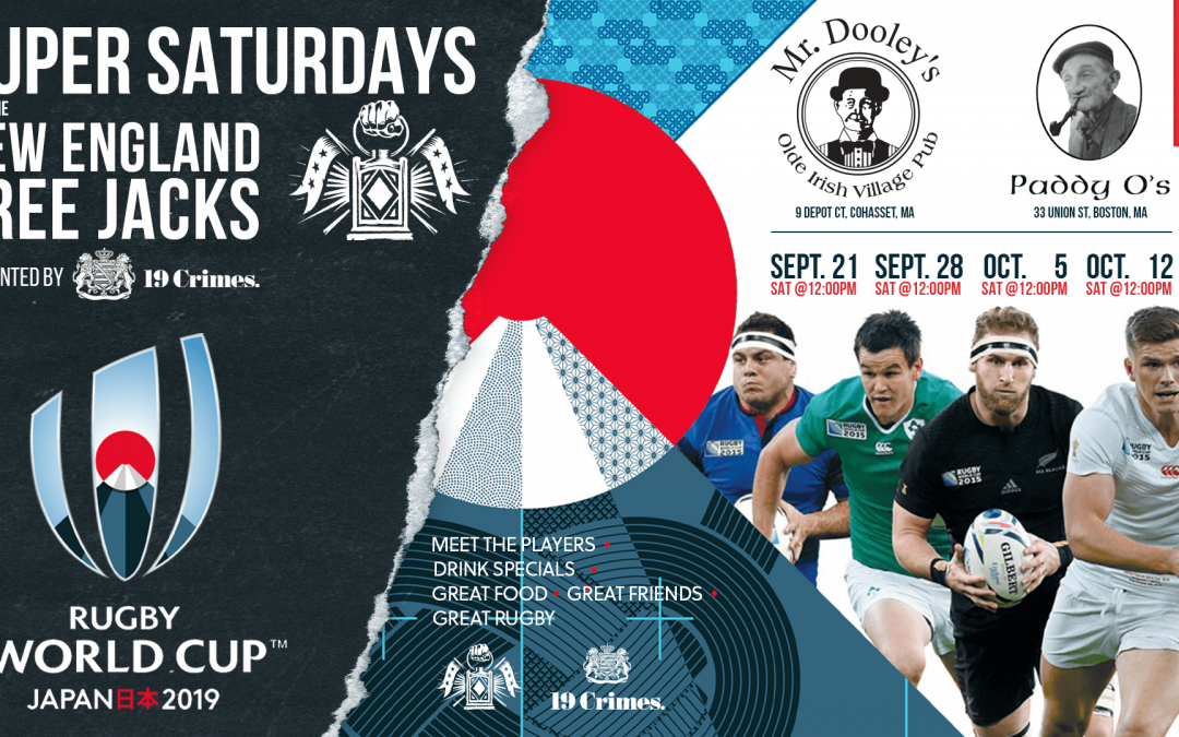 The Rugby World Cup is here. Join Us!