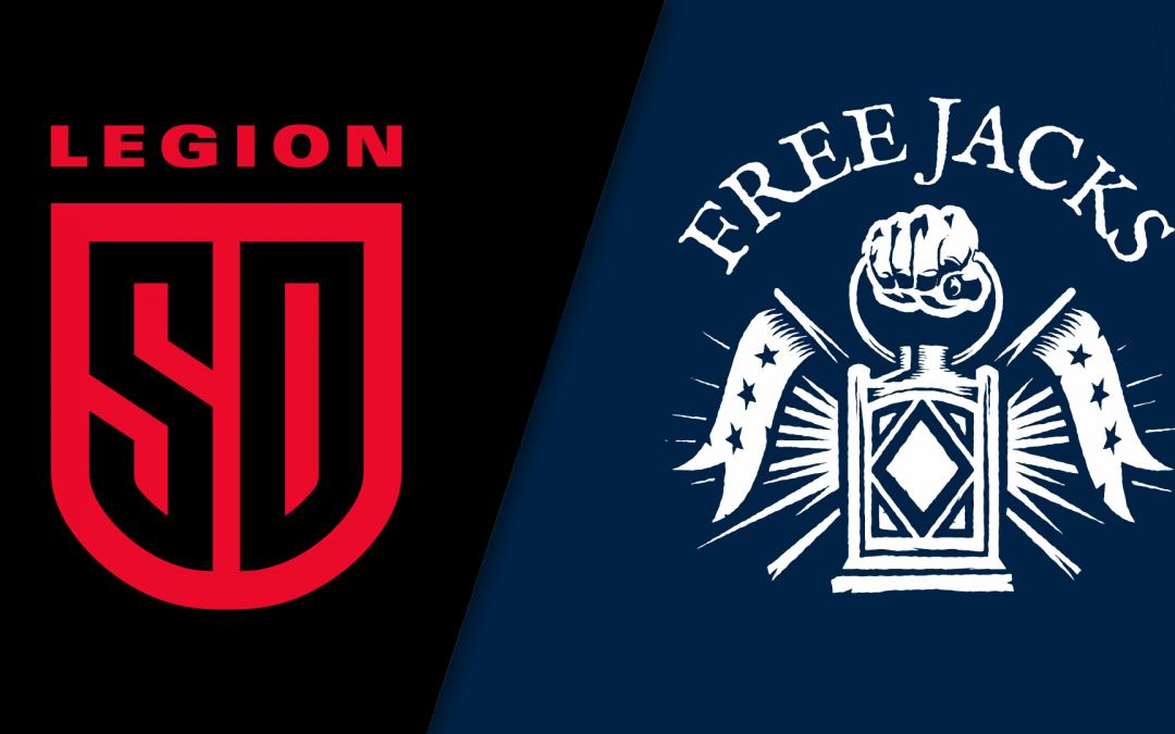 MATCH REPORT | Free Jacks v. San Diego Legion