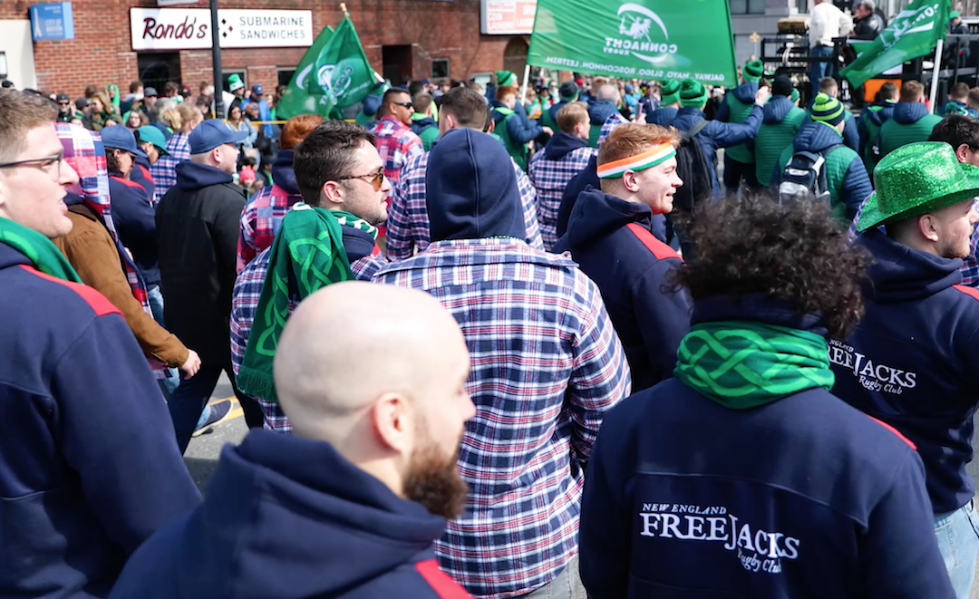 The Free Jacks Take On the Southie St. Paddy's Day Parade