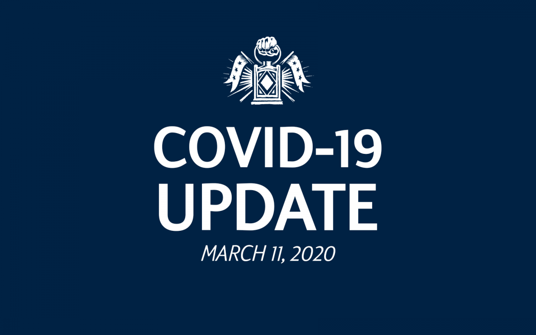 COVID-19 Update to Fans