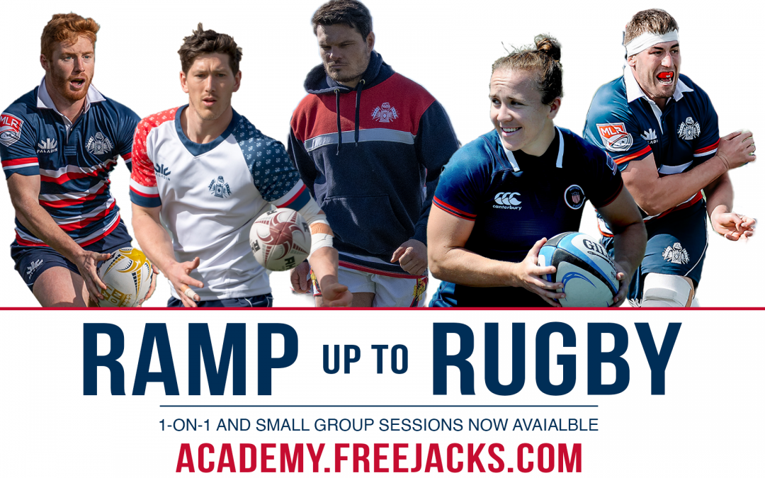 Free Jacks Reveal Ramp Up to Rugby Training Clinics