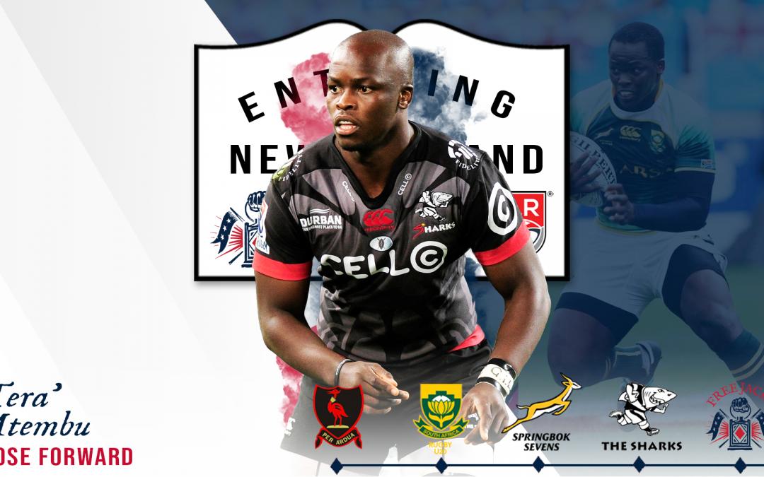 Free Jacks Sign Lubabalo Mtembu, Super Rugby's Sharks Former Captain