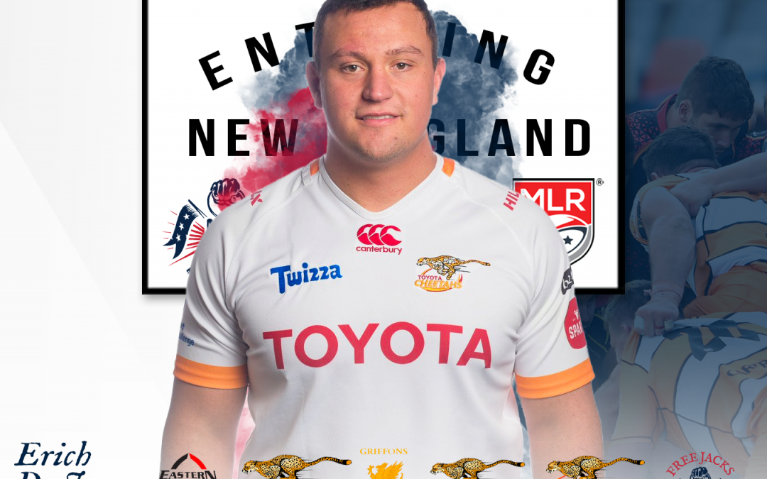 Free Jacks Sign Young Powerful Front Rower Erich De Jager