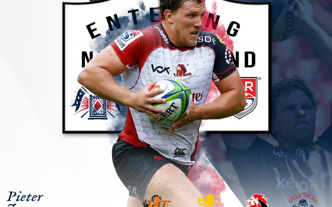 Free Jacks Sign Super Rugby Hooker, Pieter Jansen