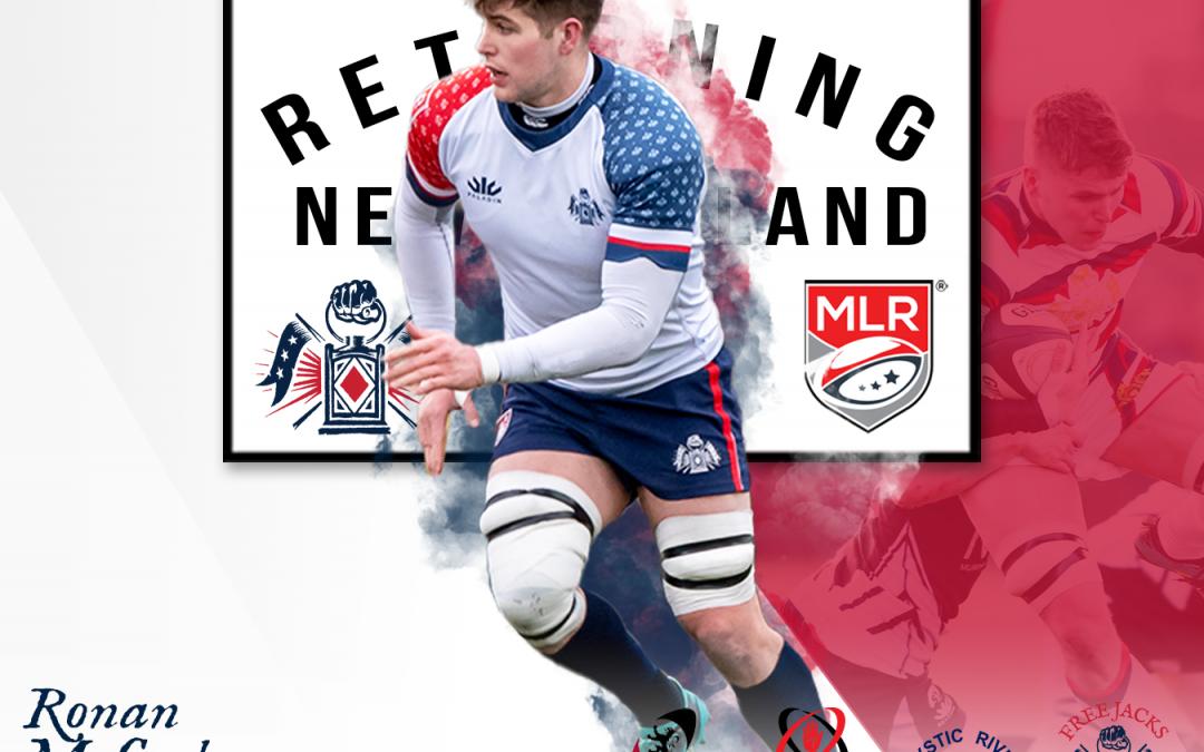 Irish/American Lock Ronan McCusker Returns to the Free Jacks
