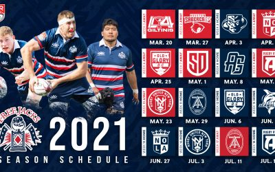 MAJOR LEAGUE RUGBY ANNOUNCES UPDATED 2021 SEASON SCHEDULE
