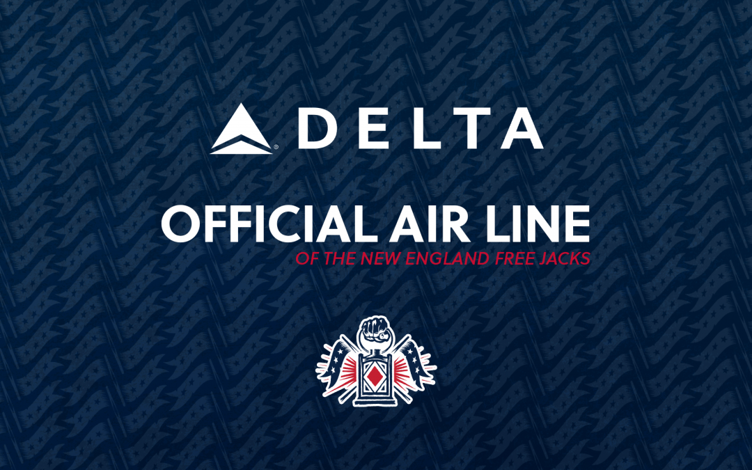 Delta Air Lines Named the Official Air Line of the New England Free Jacks