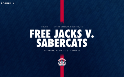 New England Free Jacks Name Match Squad for Round 2