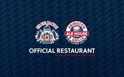 Abington Ale House Joins New England Free Jacks as Official Restaurant for the 2021 Season