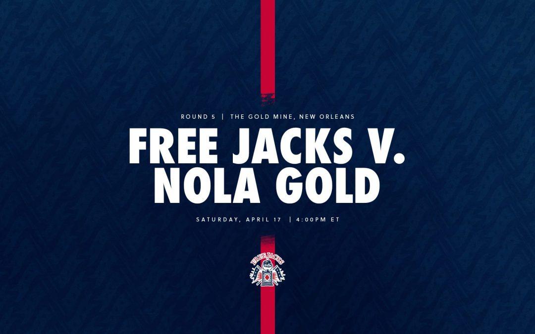 Free Jacks named to face NOLA gold this saturday