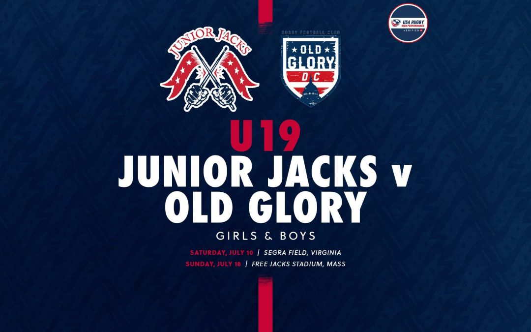New England Free Jacks and Old Glory DC Announce U-19 Academy Teams Competition Schedule