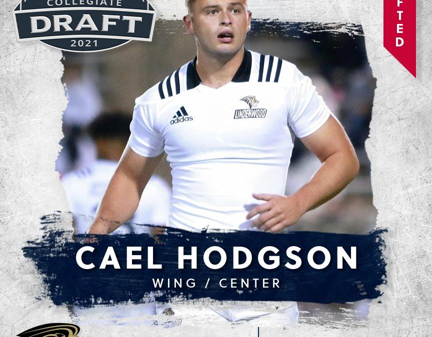 FREE JACKS SELECT CAEL HODGSON IN FIRST ROUND OF 2021 MLR COLLEGIATE DRAFT