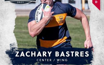 FREE JACKS SELECT ZACHARY BASTRES IN THE THIRD ROUND OF THE 2021 MLR COLLEGIATE DRAFT
