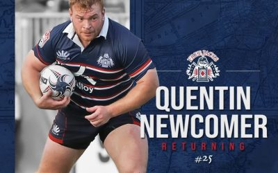 NEW ENGLAND PROP QUENTIN NEWCOMER SET TO RETURN FOR 4TH YEAR WITH THE FREE JACKS