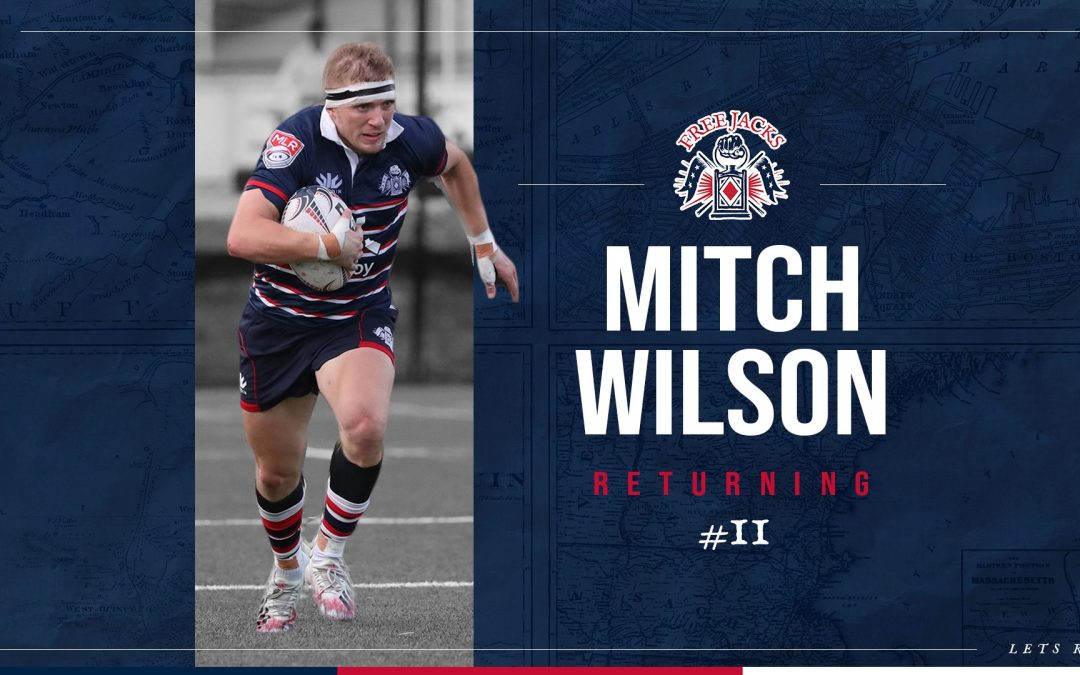 Mitch Wilson Gears Up For More With New England