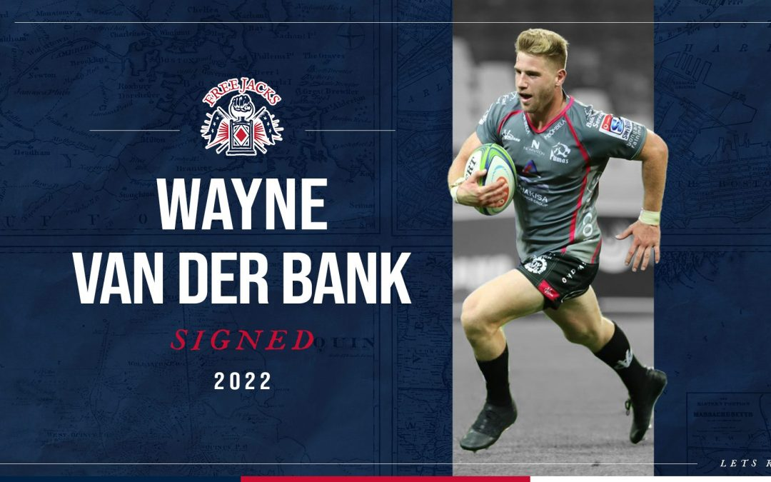 Young South African Talent, Wayne Van Der Bank Signs Five Year Deal With Free Jacks